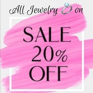 All Jewelry 💎 on sale 20%